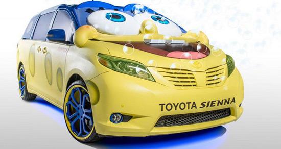 Toyota Sienna SpongeBob Concept