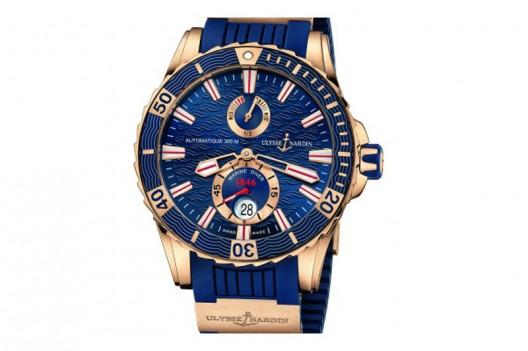 Ulysse Nardin Gold Marine Diver Watch