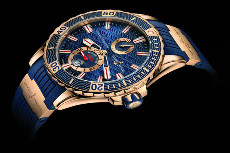 Ulysse Nardin Gold Marine Diver Watch
