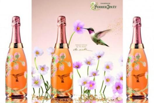 Vik Muniz for Perrier-Jouet Belle Epoque Rose Limited Edition