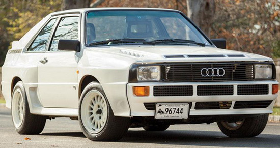 1984 Audi Sport Quattro On Offer At RM Auction