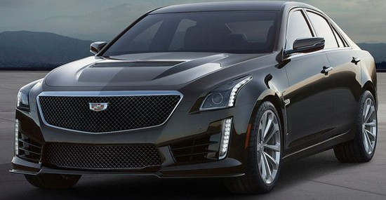 Cadillac CTS-V For 2016 Officially