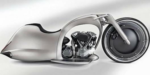 Extravagant Akrapovic Full Moon Motorcycle