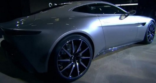 Aston Martin has officially introduced the DB10 which will also appear in the new movie about James Bond