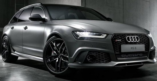 Audi Exclusive RS6 Avant Special Edition
