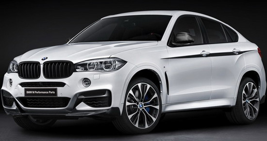 For the new generation of its X6 SAC (Sports Activity Coupe), German BMW has prepared a number of optional features and packages