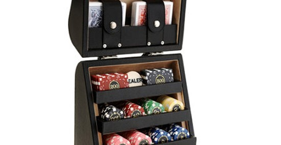 Black Dollar Texas Poker Game Set by Renzo Romagnoli