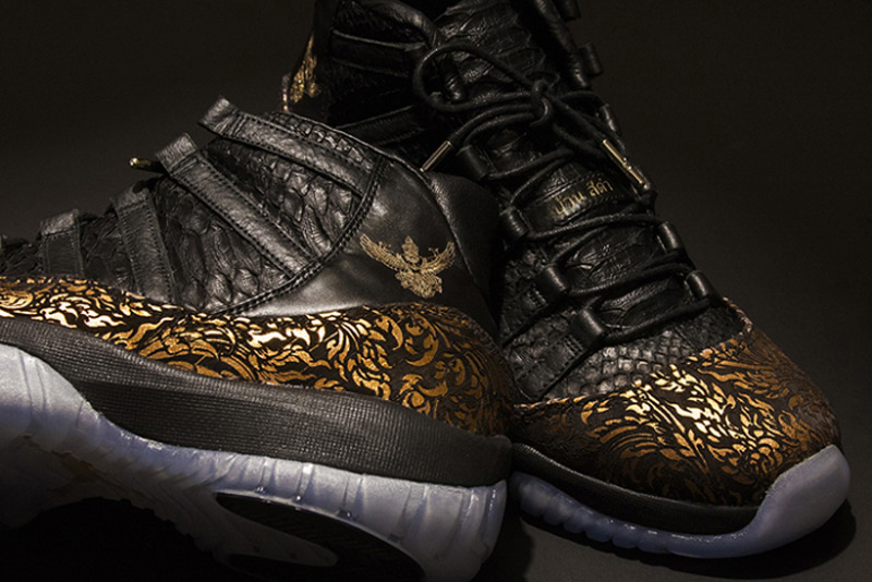 Black House Jordan XI By KXIV