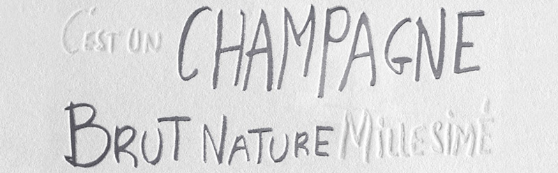 Louis Roederer Champagne and Philippe Starck - Brut Nature 2006