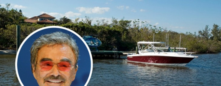 Slashed Price for Burt Reynolds' Palm Beach County Home