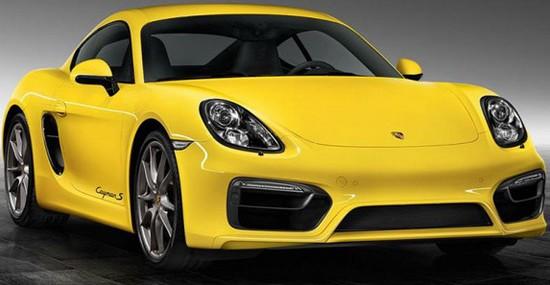 Porsche Exclusive Cayman S Racing Yellow