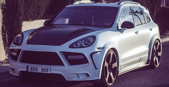 Mansory Porsche Cayenne Owned By Cristiano Ronaldo On Sale