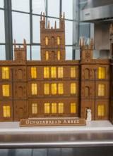 Gingerbread Replica of Downton Abbey