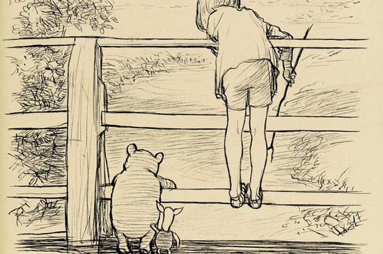 Original Drawing of Winnie the Pooh Sold for £314,500