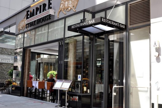 $21,000 New Year's Eve Dinner at Empire Steak House, NYC