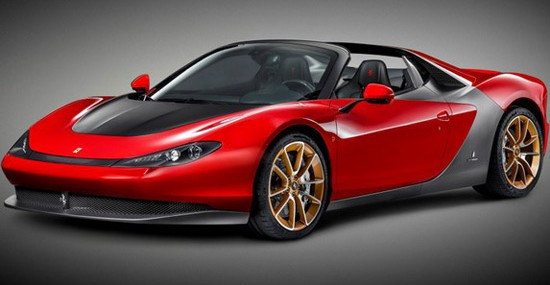 Serial Ferrari Pininfarina Sergio Is Ready