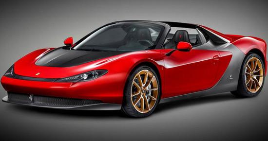 Serial Ferrari Pininfarina Sergio Is Ready