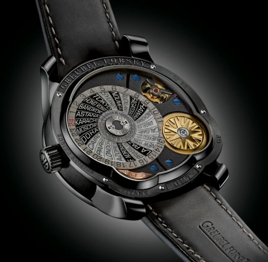 Greubel Forsey GMT Platinum Black Dial