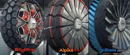 """The company Hankook Tire recently in collaboration with the University for design, engineering and efficiency from Pforzheim in Germany, participated in the project """"Design Innovation"""", in order to create a futuristic concept tires."""