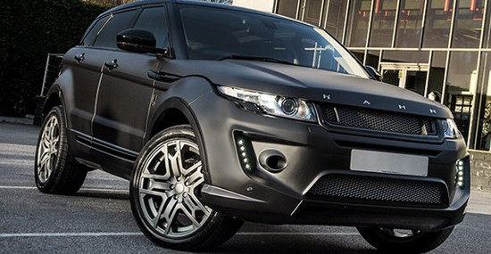 British Project Kahn has so far several times modified Range Rover Evoque, and in front of us is now another dressed up version of the smallest Range Rover model