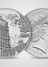 Royal Mint Unveiled a Limited Edition £100 Silver Coin