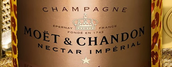 Moët & Chandon Nectar Impérial Rosé Leopard Luxury Edition