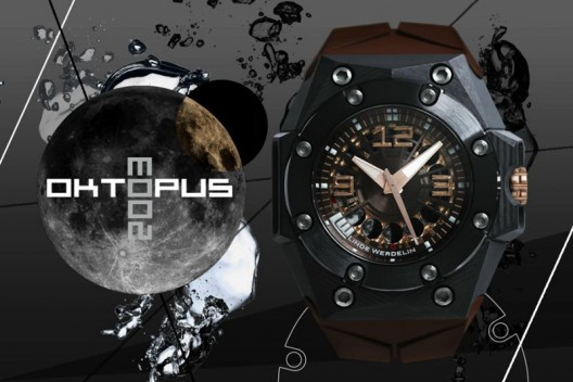 New Linde Werdelin Oktopus Moon Carbon Limited Edition Watch