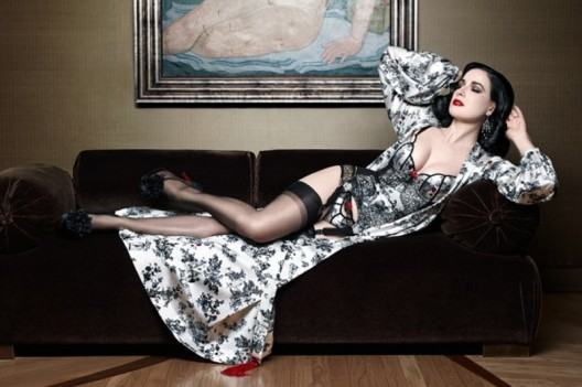 Luxury Lingerie Collection by Dita Von Teese and Christian Louboutin