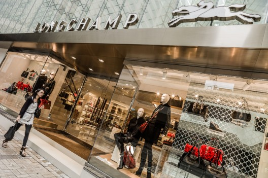 Longchamp opened its new flagship store in Paris on the prestigious Champs-Élysées