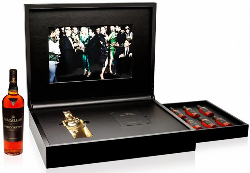 Macallan By  Mario Testino - Limited Edition