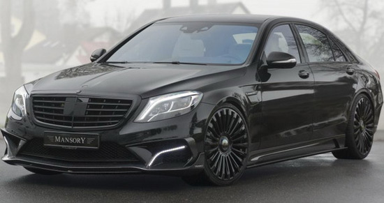 Mansory Mercedes S63 AMG With 1000HP