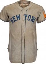 1938 Mel Ott Game Worn New York Giants Jersey Highlight at Heritage's Platinum Night Auction