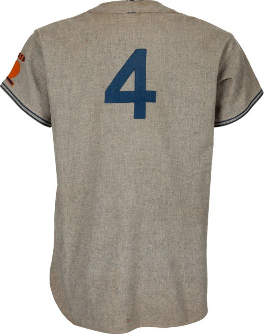 1938 Mel Ott Game Worn New York Giants Jersey Highlight at Heritage's Platinum Night Auction