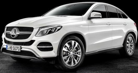 New Mercedes GLE Coupe Officially