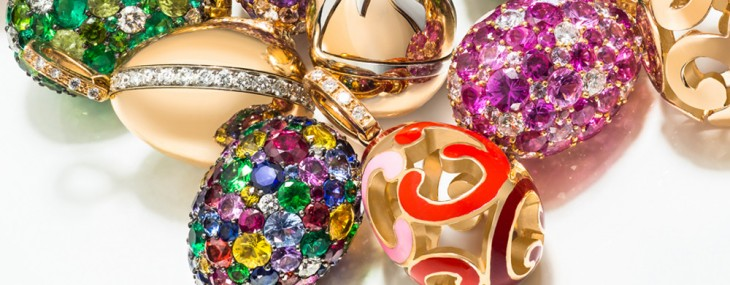 Fabergé's Miniature Egg Charms Collection