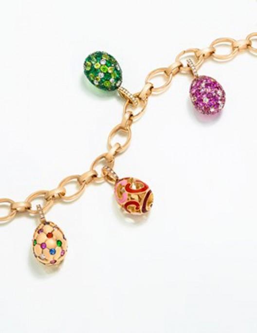 Fabergé's Miniature Egg Charms Collection