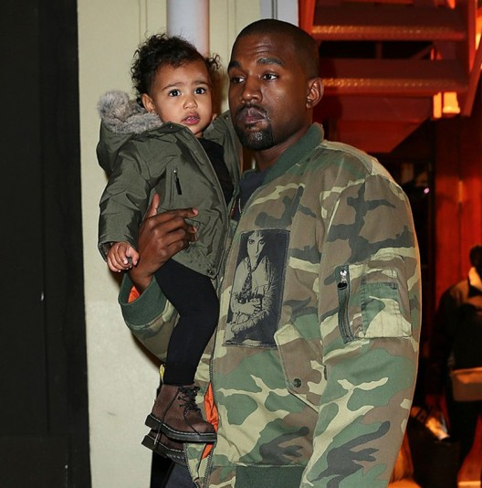 Christmas gifts that North received from her generous parents