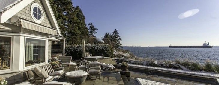 West Vancouver Olde Caulfeild's Beachfront Crown Jewel on Sale