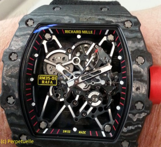 Richard Mille Limited Edition RM 011 Yellow Storm