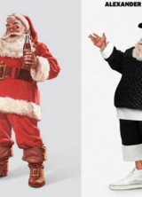 Ten Famous Designers Gave Santa Claus New Style