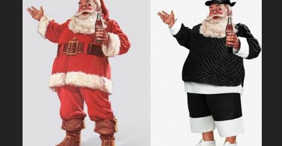 Ten Famous Designers Gave Santa Claus New Style