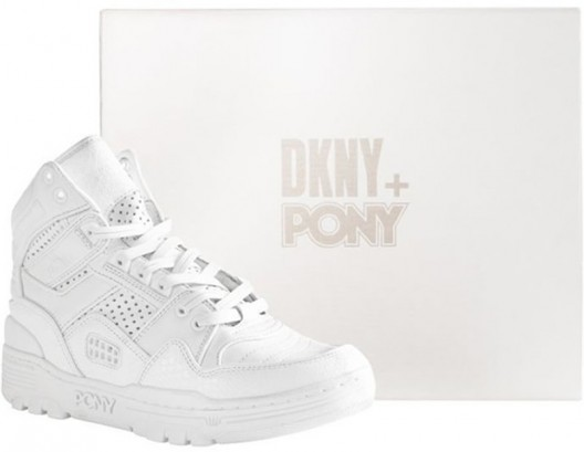Limited Edition Unisex Sneaker by DKNY and Pony