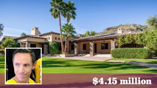 Steve Nash's Arizona Home On Sale For $4.15 Million