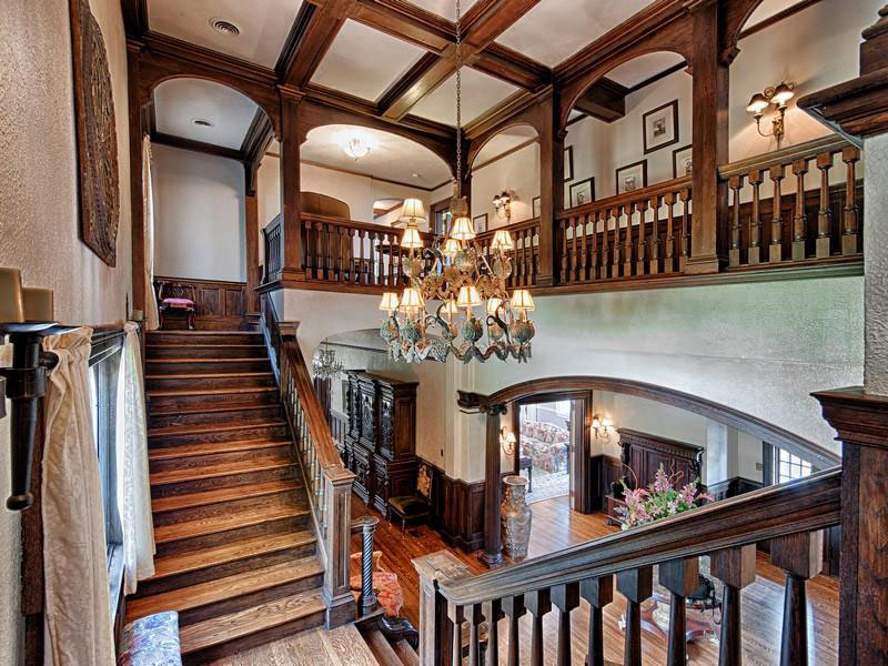Stratford Towers Exquisite Brick English Manor Home