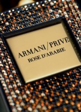 Swarovski Edition of Armani Prive Rose or d'Arabie