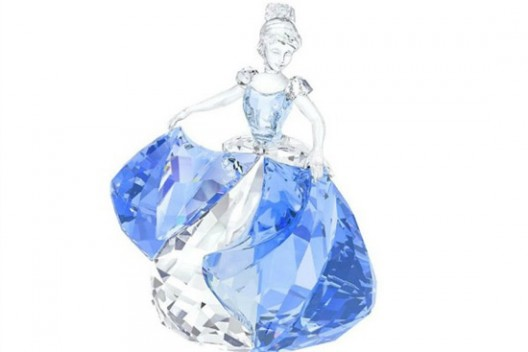 Swarovski Crystal Presented Cinderella 2015 Crystal Figurine