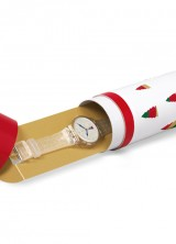 Swatch Holiday Twist Christmas Watch