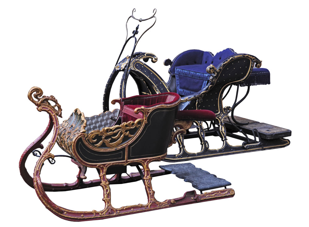 Sleigh Good Enough For Santa Goes Up For Auction