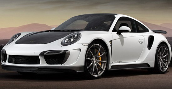 Russian TopCar announced a modified version of the Porsche 911 Turbo