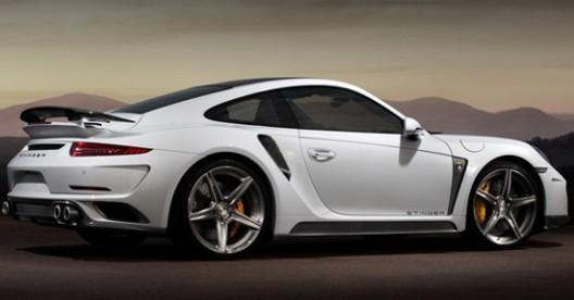 Russian TopCar announced a modified version of the Porsche 911 Turbo